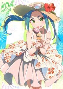 Rating: Safe Score: 30 Tags: bakemonogatari dress makicha megane monogatari_(series) nisemonogatari ononoki_yotsugi owarimonogatari skirt_lift summer_dress tsukimonogatari User: yanis