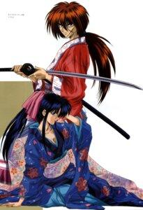 Rating: Safe Score: 12 Tags: himura_kenshin kamiya_kaoru rurouni_kenshin User: Feito