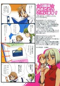 Rating: Safe Score: 5 Tags: 4koma canaan canaan_(character) daishinrin hibino_hibiki oosawa_maria type-moon User: fireattack