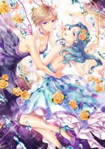 Rating: Safe Score: 28 Tags: cleavage dress heels kaiou_michiru no_bra sailor_moon tenou_haruka zenyu User: Mr_GT