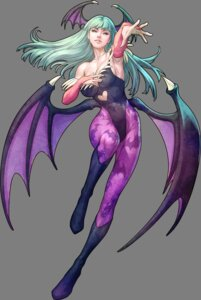 Rating: Safe Score: 57 Tags: capcom cleavage dark_stalkers leotard morrigan_aensland pantyhose stanley_lau transparent_png wings User: Radioactive