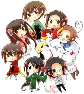 Rating: Safe Score: 5 Tags: chibi china hetalia_axis_powers hong_kong japan korea taiwan thailand vietnam User: Radioactive