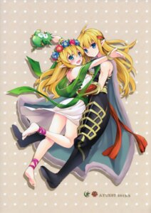Rating: Safe Score: 23 Tags: ayuest bankoku_ayuya freyja freyr puzzle_&_dragons User: guziming