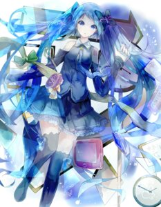 Rating: Safe Score: 35 Tags: dress hatsune_miku thighhighs vocaloid zzzzxxx2010nian User: KazukiNanako