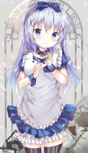 Rating: Safe Score: 51 Tags: bloomers gochuumon_wa_usagi_desu_ka? kafuu_chino ruriruno thighhighs User: Mr_GT