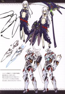 Rating: Safe Score: 20 Tags: asahiage heterochromia mecha poco sketch weapon User: fireattack