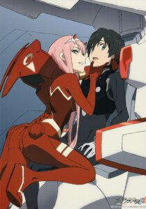 Rating: Safe Score: 32 Tags: bodysuit darling_in_the_franxx hiro_(darling_in_the_franxx) horns screening tanaka_masayoshi uniform zero_two_(darling_in_the_franxx) User: 김도엽