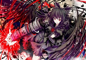 Rating: Safe Score: 32 Tags: gibuchoko reiuji_utsuho touhou wings User: Mr_GT
