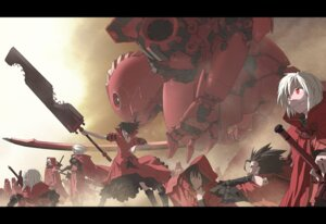 Rating: Safe Score: 24 Tags: masariro mecha pixiv_fantasia User: Radioactive