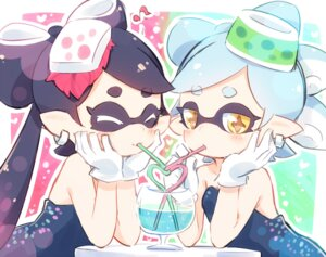 Rating: Safe Score: 27 Tags: aori_(splatoon) ayakashi_(artist) hotaru_(splatoon) no_bra pointy_ears splatoon User: Mr_GT