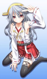 Rating: Safe Score: 41 Tags: evandragon haruna_(kancolle) kantai_collection thighhighs User: 椎名深夏