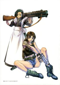 Rating: Safe Score: 12 Tags: black_lagoon fabiola_iglesias gun hiroe_rei maid revy tattoo User: drop