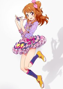Rating: Safe Score: 28 Tags: aikatsu! dress mebae megane oozora_akari User: Aneroph
