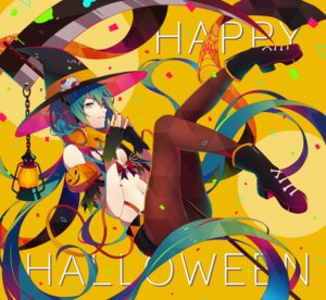 Rating: Safe Score: 34 Tags: bikini_top cleavage halloween hatsune_miku headphones heels ng_(chaoschyan) pantyhose vocaloid witch User: Mr_GT