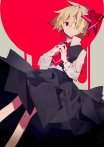 Rating: Safe Score: 10 Tags: bandaid higa423 rumia touhou User: charunetra