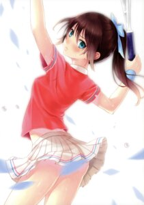 Rating: Safe Score: 115 Tags: boku_to_kimi_to_kakuusekai_to kazuharu_kina pantsu tennis User: fireattack