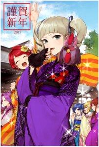 Rating: Safe Score: 20 Tags: aikatsu! hitoto hoshimiya_ichigo ichinose_kaede kanzaki_mizuki kimono kiriya_aoi shibuki_ran toudou_yurika User: nphuongsun93