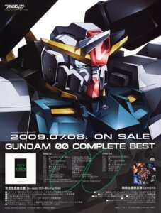 Rating: Safe Score: 6 Tags: gundam gundam_00 mecha seravee_gundam User: Radioactive