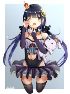 Rating: Questionable Score: 19 Tags: leotard onigirisss tagme thighhighs User: BattlequeenYume