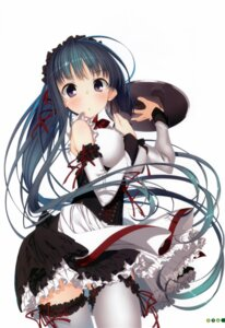 Rating: Questionable Score: 65 Tags: garter kagome kohitsuji_wa_mayowanai maid thighhighs User: syk111