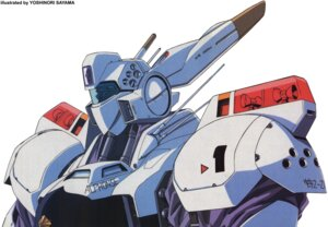 Rating: Safe Score: 5 Tags: ingram mecha patlabor sayama_yoshinori User: Radioactive