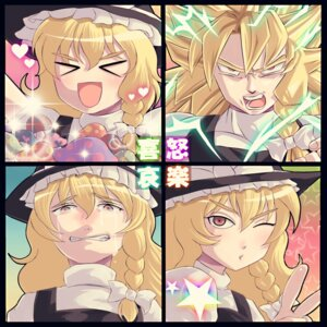 Rating: Safe Score: 6 Tags: dragon_ball kirisame_marisa parody touhou waya User: konstargirl