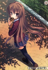 Rating: Safe Score: 79 Tags: aisaka_taiga muririn seifuku thighhighs toradora! User: Radioactive