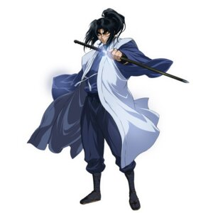 Rating: Safe Score: 7 Tags: basilisk chiba_michinori japanese_clothes kouga_gennosuke male sword User: Radioactive