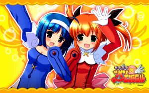 Rating: Safe Score: 5 Tags: kaitou_tenshi_twin_angel kannazuki_aoi minnazuki_haruka wallpaper User: cosmic+T5