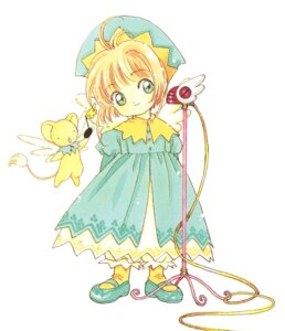 Rating: Questionable Score: 2 Tags: card_captor_sakura clamp kerberos kinomoto_sakura User: Omgix