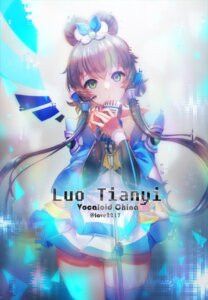 Rating: Safe Score: 24 Tags: dress luo_tianyi thighhighs vocaloid y.i._(lave2217) User: charunetra