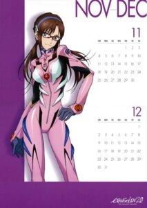 Rating: Safe Score: 20 Tags: bodysuit calendar makinami_mari_illustrious megane neon_genesis_evangelion User: vkun