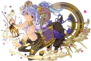 Rating: Safe Score: 14 Tags: cleavage garter horns monster_girl no_bra pointy_ears tagme tail User: BattlequeenYume