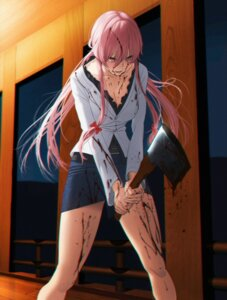 Rating: Questionable Score: 65 Tags: aconitea blood gasai_yuno mirai_nikki yandere User: SubaruSumeragi
