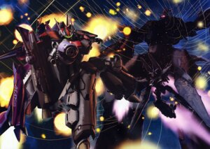Rating: Safe Score: 12 Tags: macross macross_frontier mecha vf_valkyrie User: Aurelia