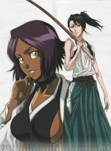 Rating: Safe Score: 13 Tags: bleach calendar kuchiki_byakuya screening shihouin_yoruichi User: yumichi-sama
