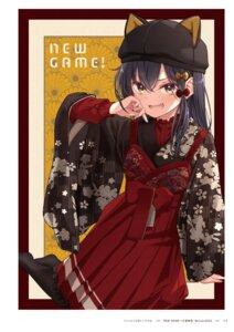 Rating: Questionable Score: 12 Tags: narumi_tsubame new_game! tokunou_shoutarou User: kiyoe