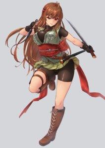 Rating: Safe Score: 28 Tags: bike_shorts japanese_clothes sword tori_(puru0083) weapon User: Mr_GT