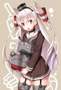 Rating: Questionable Score: 37 Tags: amatsukaze_(kancolle) kantai_collection kgr rensouhou-chan stockings thighhighs User: KazukiNanako