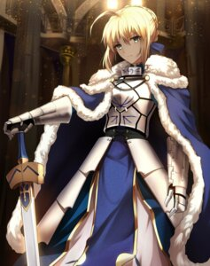 Rating: Safe Score: 81 Tags: armor fate/grand_order saber shiguru sword User: kiyoe