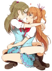 Rating: Safe Score: 85 Tags: houjou_hibiki minamino_kanade minazuki_randoseru pretty_cure seifuku suite_pretty_cure symmetrical_docking yuri User: Radioactive
