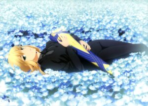 Rating: Safe Score: 44 Tags: fate/stay_night fate/zero fujisaki_shizuka saber type-moon User: drop