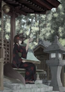 Rating: Safe Score: 17 Tags: kitsune tail yukata User: Humanpinka