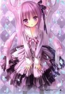 Rating: Safe Score: 53 Tags: lolita_fashion minato_tomoka ro-kyu-bu! seifuku thighhighs tinkle User: RICO740