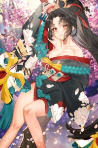 Rating: Safe Score: 38 Tags: chungu cleavage kimono onmyouji open_shirt User: nphuongsun93
