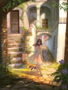 Rating: Safe Score: 55 Tags: dress heels landscape neko sho_(shoichi-kokubun) User: nphuongsun93
