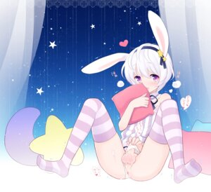 Rating: Explicit Score: 65 Tags: +++_(artist) animal_ears anus bunny_ears crossdress cum pantsu panty_pull penis shota thighhighs trap User: Mr_GT