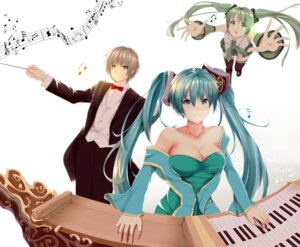Rating: Safe Score: 19 Tags: cleavage crossover hatsune_miku hews league_of_legends sona_buvelle thighhighs vocaloid User: gnarf1975