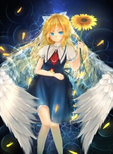 Rating: Safe Score: 16 Tags: air kamio_misuzu midori_(artist) wings User: lichtzhang
