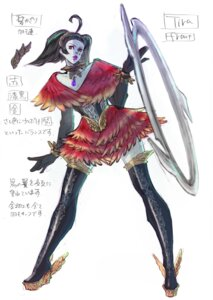 Rating: Safe Score: 4 Tags: corset soul_calibur soul_calibur_v thighhighs tira User: Radioactive